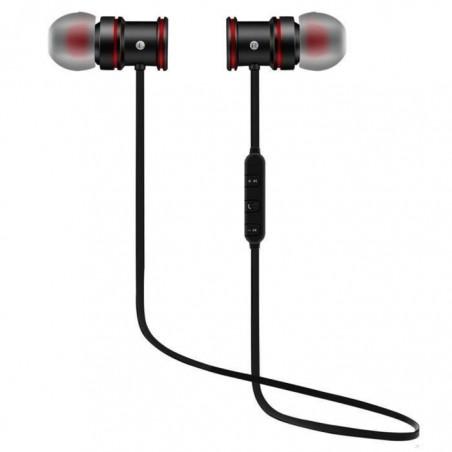 Écouteurs Sport Earphone Headphone Sans fil stéréo XT-6 Noir
