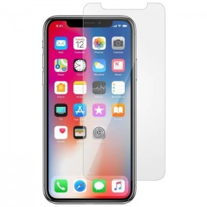 Verre trempé pour iPhone Xs Max Transparent
