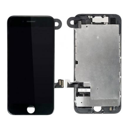 BLOC COMPLET TOUT ASSEMBLÉ VITRE TACTILE + ECRAN LCD IPHONE 7 NOIR
