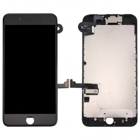 BLOC COMPLET TOUT ASSEMBLÉ VITRE TACTILE + ECRAN LCD IPHONE 7 PLUS NOIR