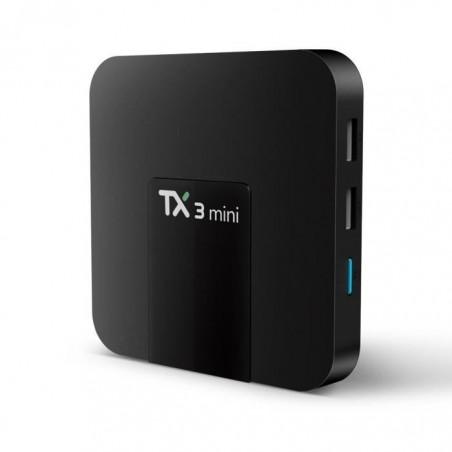 Décodeur multimédias Smart TV Box Android 7.1 TX3 Mini 1G-8G