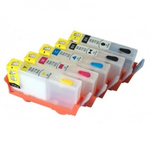 Cartouches rechargeables compatibles HP HP364 HP364XL 500ml