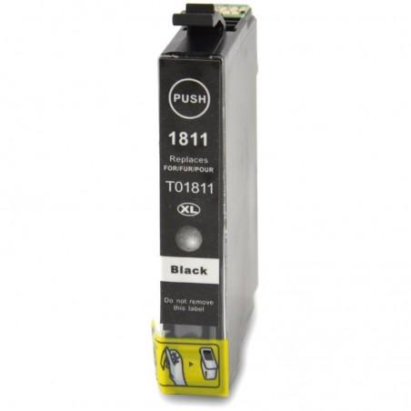 1 Cartouche compatible EPSON T1811 Noir 17,5ML