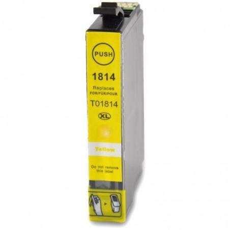 1 Cartouche compatible EPSON T1814 Jaune 14ML