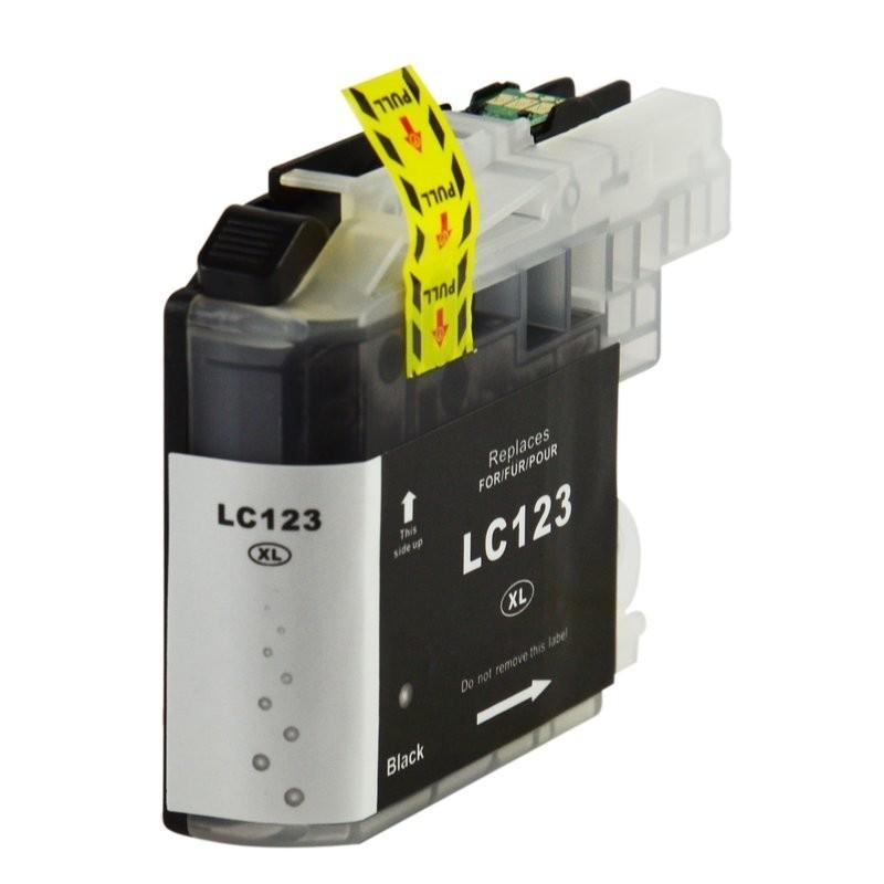 1 Cartouche compatible Brother LC-123BK Noire