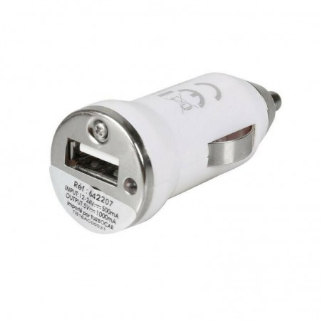 Chargeur de voiture Allume Cigare USB 12/24V 5V 1A