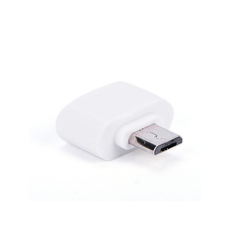 Adaptateur Convertisseur USB FEMELLE - MICRO USB MALE OTG (sans câble)