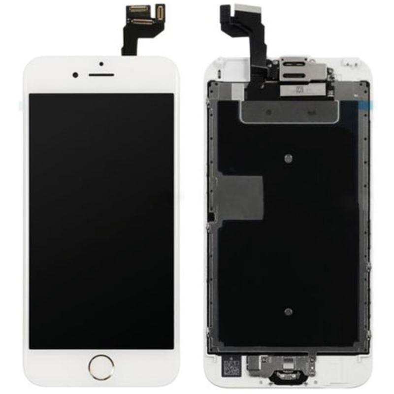 BLOC COMPLET TOUT ASSEMBLÉ VITRE TACTILE + ECRAN LCD IPHONE 6S BLANC